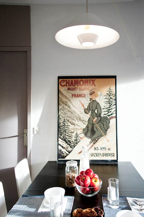 modern Dining room by marta novarini architetto
