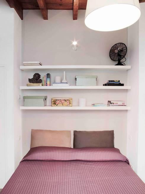 Спальная комната  в . Автор – marta novarini architetto