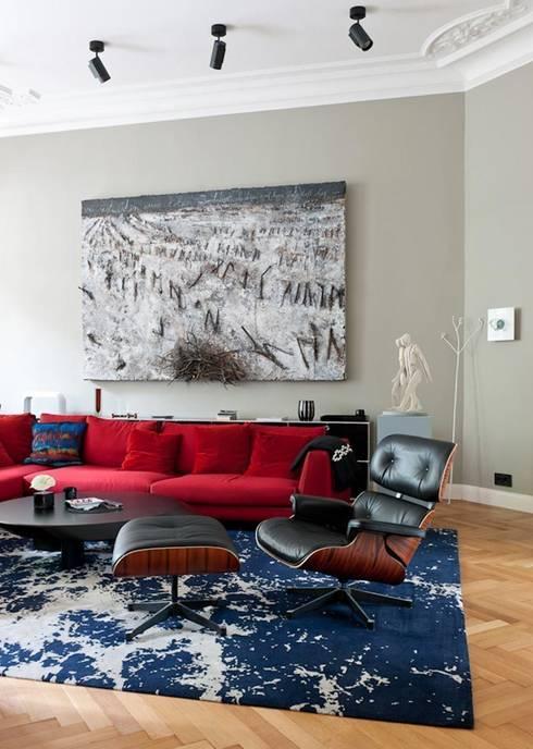 The Art of Viewing: moderne Wohnzimmer von Gisbert Pöppler Architektur Interieur