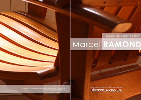 Collection Marcel Ramond  / Galerie Clément Cividino Ent.: Art de style  par Galerie Clément Cividino Ent.