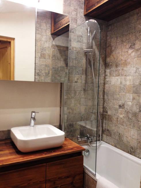 APRES / salle de bains :  de style  par ELDI conseil