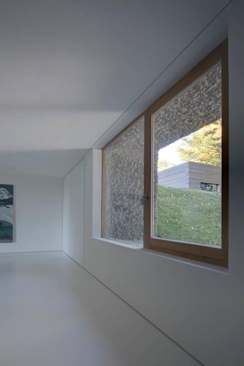 Fels am Hang:  Fenster von Unterlandstättner Architekten