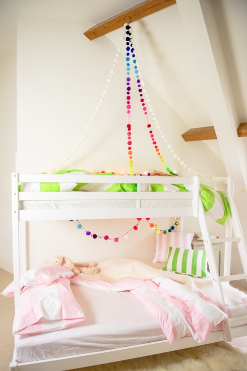 Nursery/kid's room by PomPom Galore