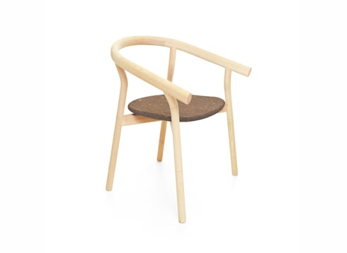 DORA chair (side view of the standard option): Casa  por DAM