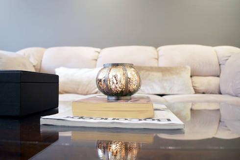 SAN ISIDRO by APOTEMA INTERIORS: Salas de estilo moderno por APOTEMA Estudio de Diseño