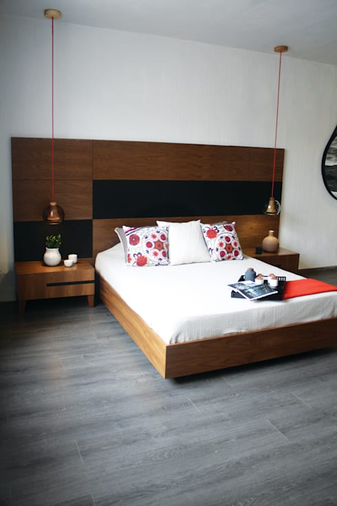 TocoMadera의  침실