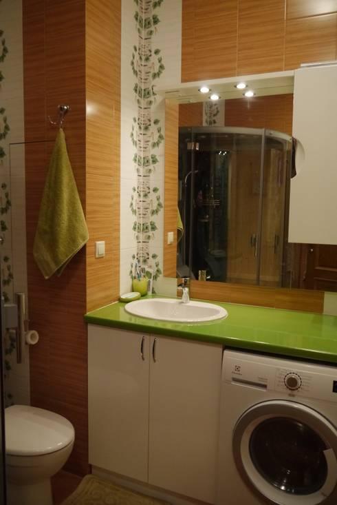 квартира Соколиная гора: Ванная комната в . Автор – Cameleon Interiors