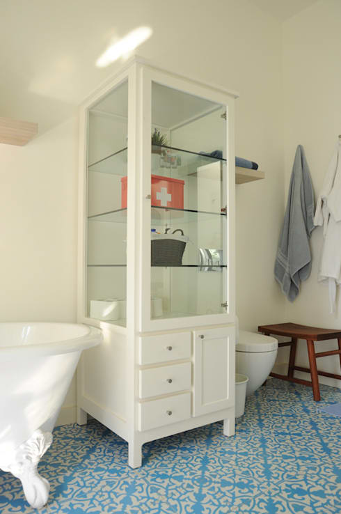 Botiquín: Baños de estilo  por Mediamadera