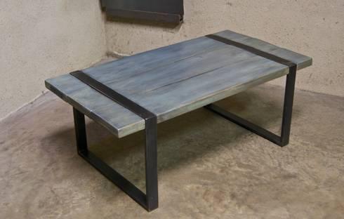 mobilier design m tal bois de cb8design homify. Black Bedroom Furniture Sets. Home Design Ideas
