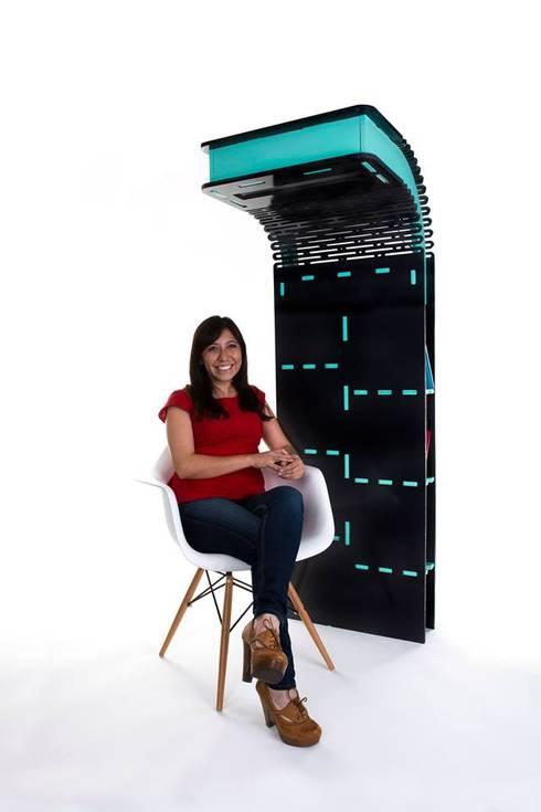 CONTORSIONISTA: Oficinas y tiendas de estilo  por Mono Studio