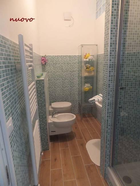 Nuovo bagno: Bagno in stile  di EFFEtto Home Staging