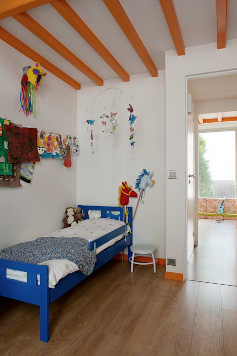 Nursery/kid's room by MELANIE LALLEMAND ARCHITECTURES