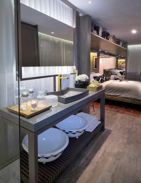 Schlafzimmer von Studium Saut Arte & Interiores