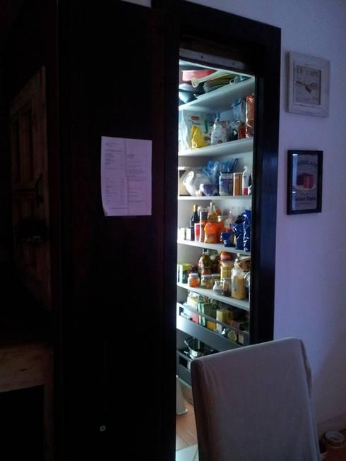 INDUSTRIAL,LIBERTY,MODERNO: Cucina in stile in stile Industriale di MARA GAGLIARDI 'INTERIOR DESIGNER'