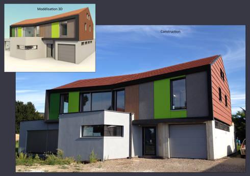 Etude de la configuration int rieure d 39 une maison for Modelisation maison 3d