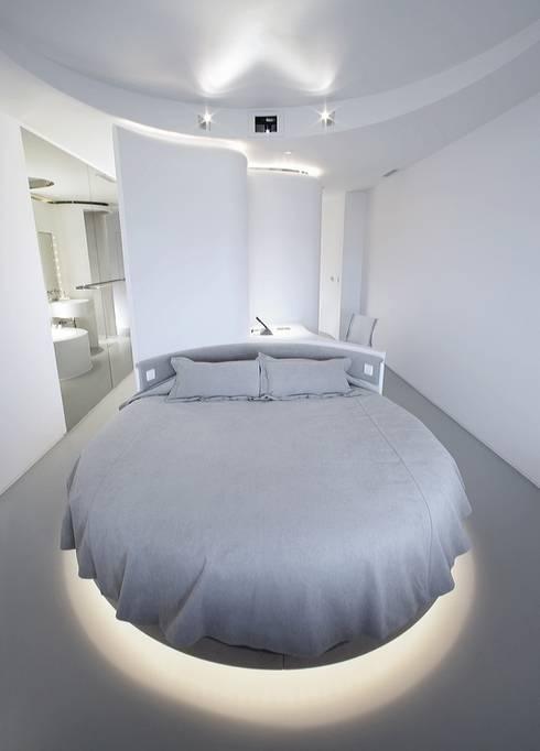 Projekty,  Sypialnia zaprojektowane przez RAFAEL VARGAS FOTOGRAFIA SL