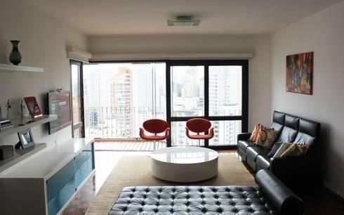 DPTO GRNT: Livings de estilo minimalista por Najmias Oficina de Arquitectura [NOA]