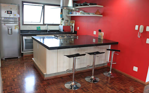 DPTO GRNT: Cocinas de estilo minimalista por Najmias Oficina de Arquitectura [NOA]