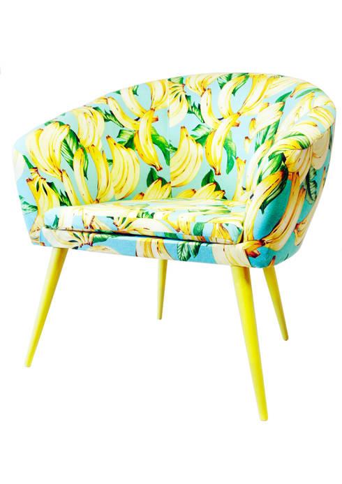 Fotel Pop Art od www.hamptonhouse.pl: styl , w kategorii Salon zaprojektowany przez Hampton House