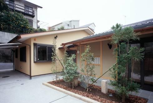 外観: 忘蹄庵建築設計室が手掛けた家です。