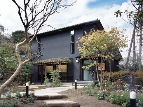外観: 忘蹄庵建築設計室が手掛けた商業空間です。