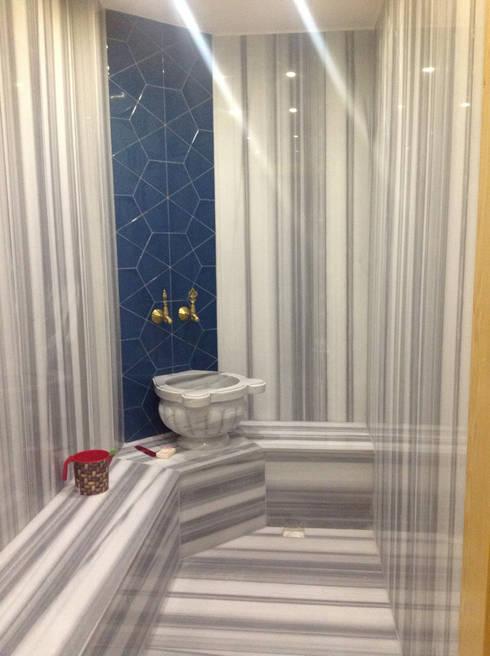 HEBART MİMARLIK DEKORASYON HZMT.LTD.ŞTİ. – Ali Özcan Evi:  tarz Banyo
