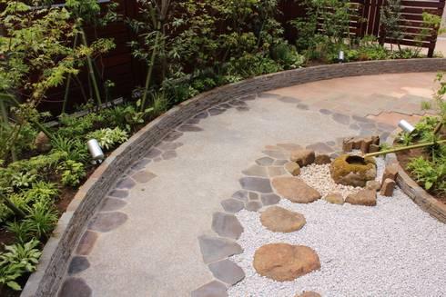 .: 株式会社大沢ガーデンが手掛けた庭です。
