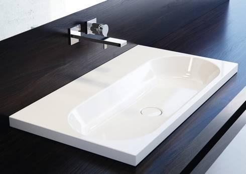 waschtische aus kaldewei stahl email von franz kaldewei gmbh co kg homify. Black Bedroom Furniture Sets. Home Design Ideas