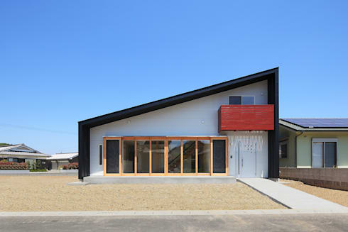 南側外観: bound-designが手掛けた家です。