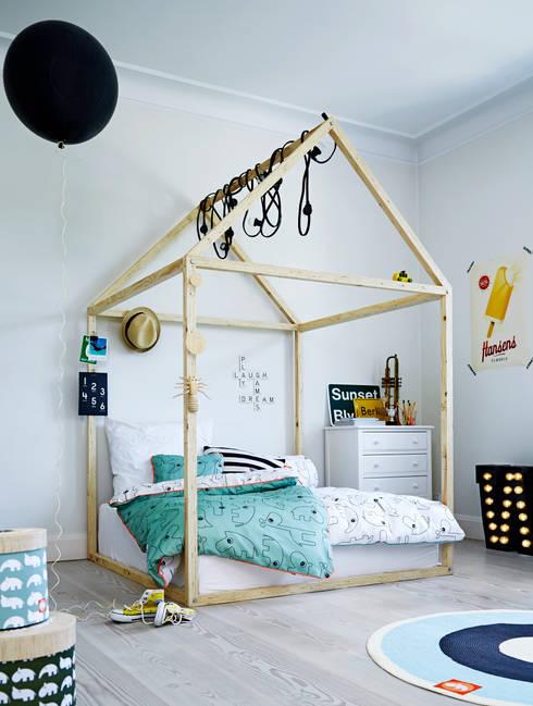 scandinavian Nursery/kid's room by De Kleine Generatie
