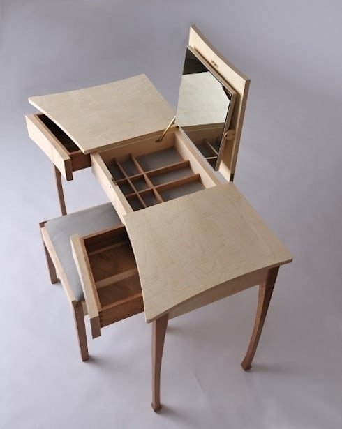 Ben Rawlinson Bespoke Furniture의  드레싱 룸