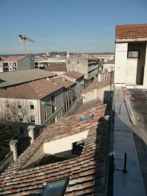 Rénovation immeuble: Maisons de style  par AGENCE D'ARCHITECTURE BRAYER-HUGON
