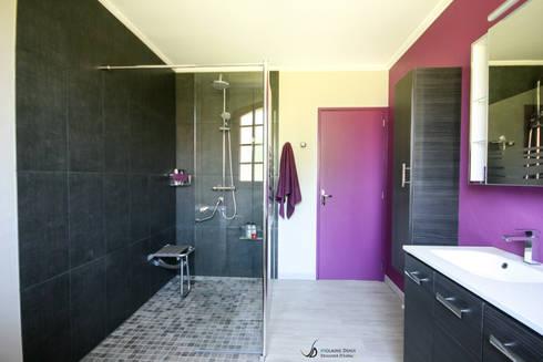 r novation d 39 une salle de bain accessibilit pmr par violaine denis homify. Black Bedroom Furniture Sets. Home Design Ideas