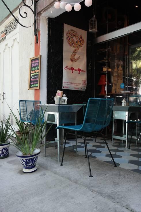 Copqueques Condesa: Espacios comerciales de estilo  por Diseño Distrito Federal
