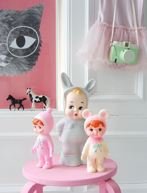 Chambre d'enfants de style  par Girlslabel