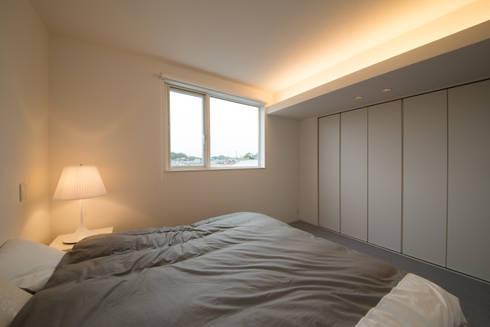 W-home: アートオブライフが手掛けた寝室です。