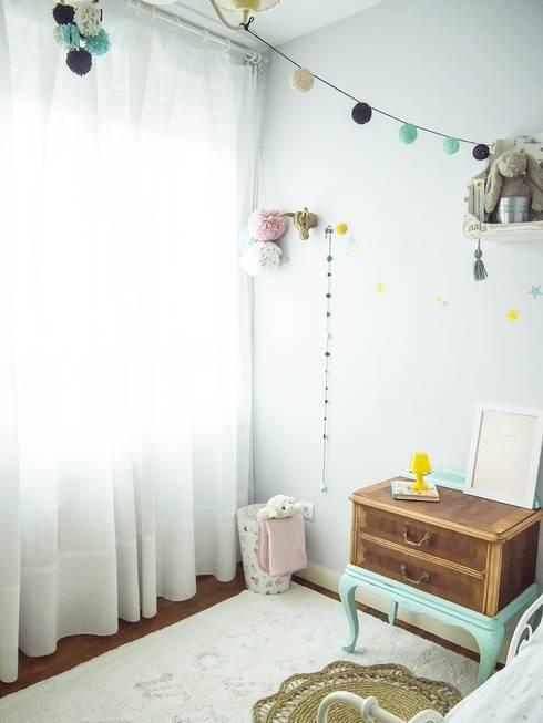 Recámaras infantiles de estilo escandinavo por Tu Cajon Vintage Shop