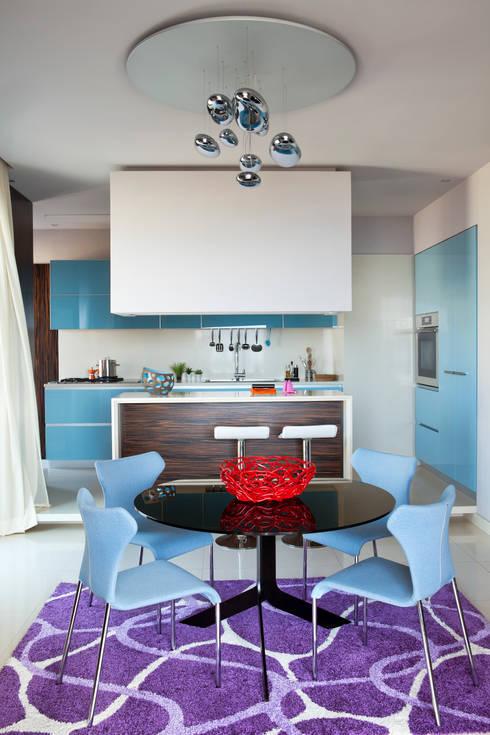 Cucina: Cucina in stile in stile Eclettico di PDV studio di progettazione