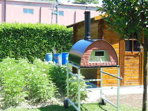 Pizzone Forno a legna per 3-4 pizze par Pizza Party Wood fired ...