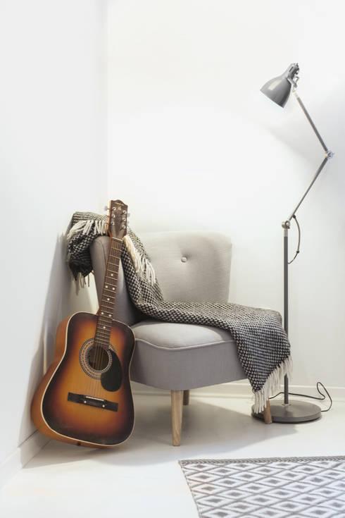 Sypialnia - fotel: styl , w kategorii Sypialnia zaprojektowany przez DoMilimetra