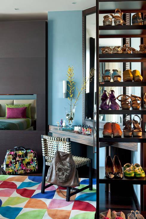 Chambre de style de style eclectique par PDV studio di progettazione