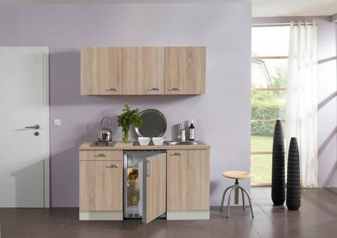 Schrankküche design  Miniküchen, Pantryküchen und Schrankküchen - alle Funktionen auf ...