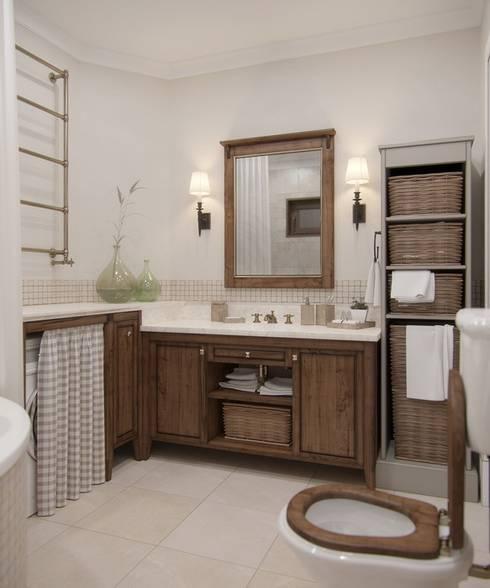 Projekty,  Łazienka zaprojektowane przez MJMarchdesign
