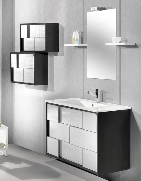 Muebles de baño modernos : Baños de estilo moderno de Bañoweb
