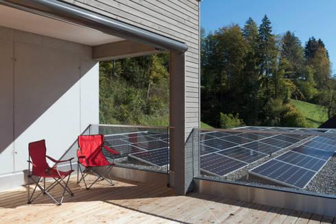 wohnen im minergie p eco haus von honegger architekt ag homify. Black Bedroom Furniture Sets. Home Design Ideas