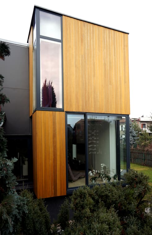moderne Häuser von Grid Architekci