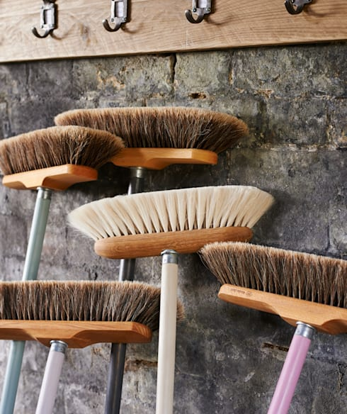 Finest quality Goat  hair & horsehair broom heads:  Household by brush64