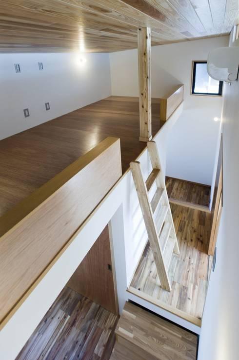 TKGA 照国町の光を取り込む家: 太田則宏建築事務所が手掛けた子供部屋です。