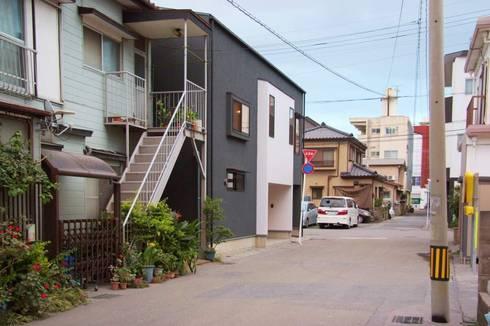 MSGS 真砂のコンパクトな家: 太田則宏建築事務所が手掛けた家です。