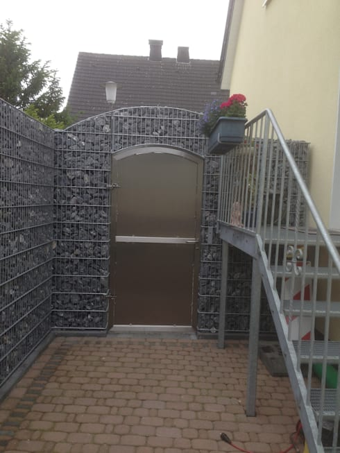 Gabionen Carport gartentore by metallbau sandmeier homify